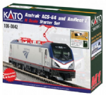 Kato 106-0042 Amtrak ACS-64 Amfleet I Starter Set